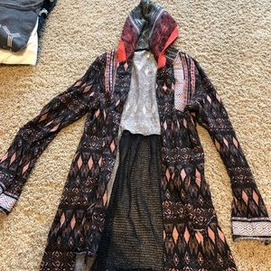 Long BKE cardigan